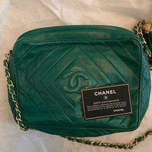 Used Chanel camera case